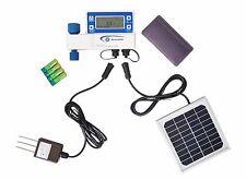 Moisture Sensor Solar Powered Water Timer Home Garden Mini Irrigation Controller