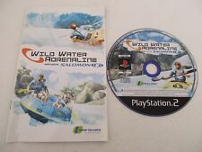WILD WATER ADRENALINE Featuring SALOMON - SONY PLAYSTATION 2 PS2 PAL Loose