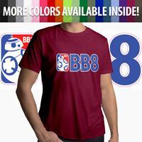 BB-8 NBA Parody Star Wars Jedi Droid Basketball Men Unisex Tee T-Shirt Gift S-3X