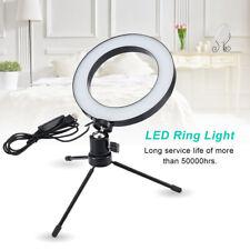 Anillo de luz LED Regulable Para Iluminación Lámpara de maquillaje de fotografía video con trípode