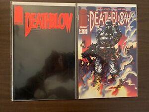 Deathblow #'s 1 & 2 High Grade Image Comic Book Set C43-29