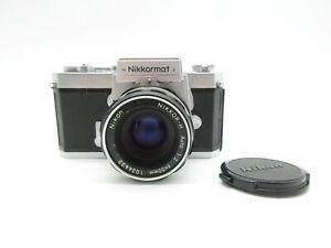 Nikon Nikkormat FT SLR Spiegelreflexkamera + Nikkor-H Auto 1:2/50mm Objektiv