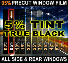 PreCut All Sides & Rears Window Film Black 5% Tint Shade VLT Cut for BUICK Glass