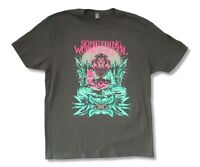 Something Wonderful Festival 2015 Charcoal Grey T Shirt New Official Adult