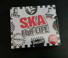 CD TRIPLE ALBUM - SKA FOR LIFE - NEW AND SEALED
