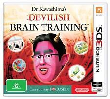 Nintendo 3DS Spiel Dr. Kawashimas Diabolisches Gehirn - Jogging 2DS kompt. NEU