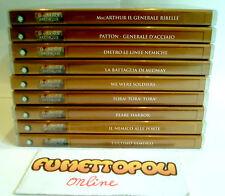 LOTTO 9 DVD Editoriali Serie LE GRANDI BATTAGLIE ( v. foto) COME NUOVI!