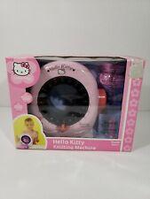 Sanrio Hello Kitty Knitting Machine DIY Yarn Craft Knit Easy Use Woven Toy #253