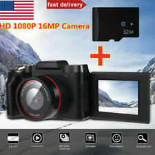 Digital Camera Video Camcorder Vlogging Full HD 1080P 16MP for YouTube Camera US