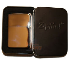 Feuerzeug Z-Plus Cool chrome high polished inklusive Gravur