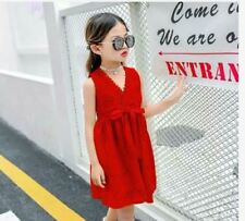 CASUAL KIDS DRESS AG 6802 - RED