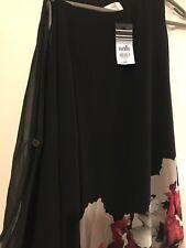 Ladies Beautiful Dress By Wallis Petite Size 12 Uk Black Evening Formal Casual