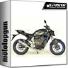 SPARK ESCAPE COMPLETO ALTO FORCE RACING INOX YAMAHA MT 07 2014 14 2015 15