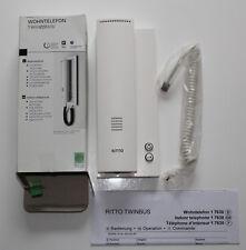 RITTO TwinBus Wohntelefon Standard Weiß 1763070  in OVP