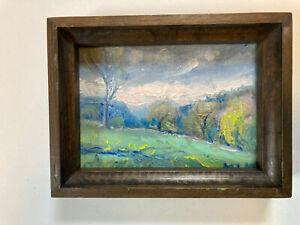 Spring Landscape Hudson Valley NY.oil On Canvas. Impressionism Art Original