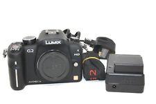 Panasonic LUMIX DMC-G2 12.1MP Digital Camera - Black (Body only)-Used