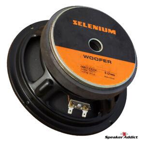 """Selenium 8w4p 8"""" high power woofer midbass"""