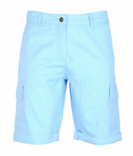 Womens Ladies Cotton Combat Canvas Chino Cargo Summer Comfortable Shorts Bottom