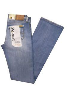 jeans donna elasticizzati meltin pot nicole zampa vita bassa denim bootcut flare