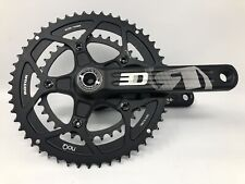 ROTOR 3D30 Alloy 52/36 Mid-Compact 170mm Crank Set & BB EXCELLENT MINIMAL USE