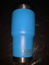 Yeti Tumbler Rambler 30 Oz Blue With Lid Of