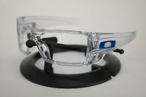 NEW Oakley Batwolf Frame Polished Clear - Blue Icon OO9101 ONLY FRAME Genuine