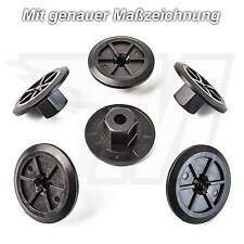 15x Kunststoff Mutter Befestigung Clips Radeinbau für BMW Mercedes VW Skoda Seat