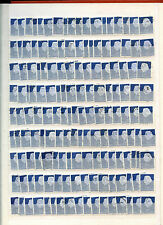 Paesi Bassi 1953-71, 25c Chalky BLUE QUEEN Juliana stockpage COMPLETO FRANCOBOLLI #b4338