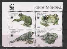 REPUBBLICA D'HAITI 1999 SERIE 4 VALORI WWF RANE YVERT 891/4 MNH**
