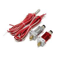 Metal J-head V6 Hotend 1.75mm Nozzle Bowden Extruder Reprap for 3D Printer//