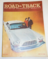 Road & Track Magazine Porsche Test Monte Carlo Rally April 1958 NO ML 091214R