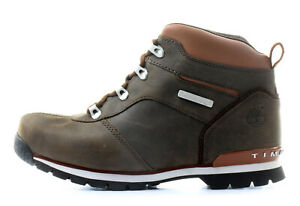 Timberland Junior Euro Hiker Splitrock Dark Brown Boots (T27)