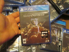 Middle-earth: Shadow of War PS4 Sony BRAND NEW FACTORY SEALED LOW COST DEAL