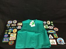 Girl Scout Jacket And Patches (bundle Pkg.)