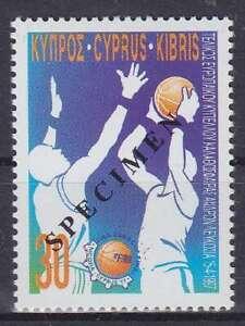 Basketball Cyprus Mi No. 896 Specimen, Mint, MNH