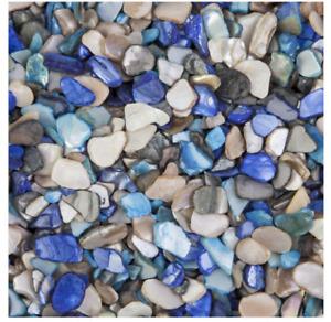 Panacea Teal & Aqua Crushed Shells, 2 Lbs