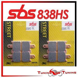 Pastiglie Anteriori SBS HS Sinter Per KAWASAKI ZX6R NINJA 600 2007 2008 (838 HS)
