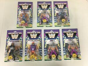 Masters Of The WWE Universe Macho Cena Rey Roman Triple H (7 TOTAL FIGURES)