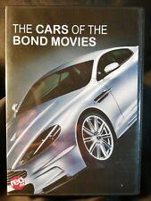 CARS OF THE BOND MOVIES DVD - JAMES BOND - 007 - ASTON MARTIN / LOTUS / BMW +