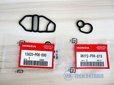 For Honda Si B16A2 GSR B18C1 Type R B18C5 DC Upper & Lower VTEC Solenoid Gaskets