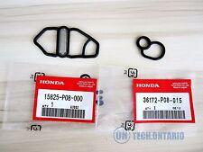 NEW Honda Si B16A2 GSR B18C1 Type R B18C5 DC Upper & Lower VTEC Solenoid Gaskets