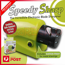 Speedy Sharp Swifty Electric Kitchen Knife Sharpener Knives Motorised Blade