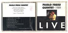 Cd PAOLO FRESU QUINTET LIVE 1989 - ottimo Jazz Trumpet tromba