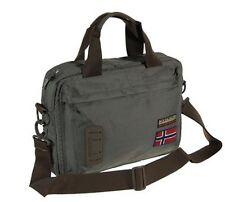 Borsa Tracolla Uomo Donna Napapijri Bag Men Woman Nordland Briefcase Quarry N5Z3