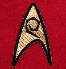 Star Trek TOS Uniform Patch Engineering/Security Emblem Enterprise Scotty Uhura
