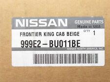 Genuine OEM Nissan 999E2-BU011BE Carpeted Floor Mat 3pc Beige Frontier King Cab