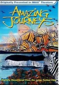 Imax - Amazing Journeys (1999, DVD, Rgn 0) Zebra, Red Crab, Gray Whale. AS NEW