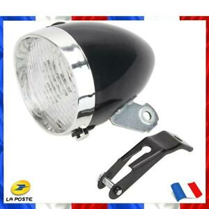 3-LED vélo phare vélo MTB Vintage lumière avant cyclisme lampe-torche lampe