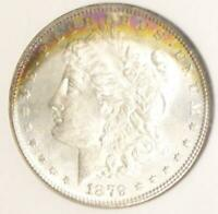 1879 S NGC MS 64 Silver Morgan Dollar, MS 64 Silver $1 Coin, Obverse Color Tone