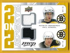 Bergeron/Kessel/Thomas/Ryder - 2008-09 Upper Deck MVP - Two/Two Jerseys #J2TRBK